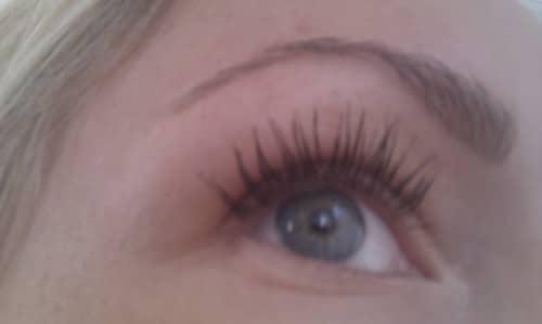 längre ögonfransar huskur