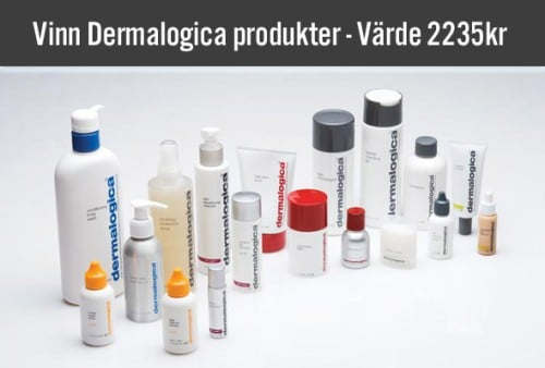 Vinnare av Dermalogica Produkter!