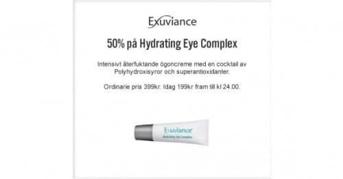 6:e December Lucköppning- Hydrating Eye Complex -50%