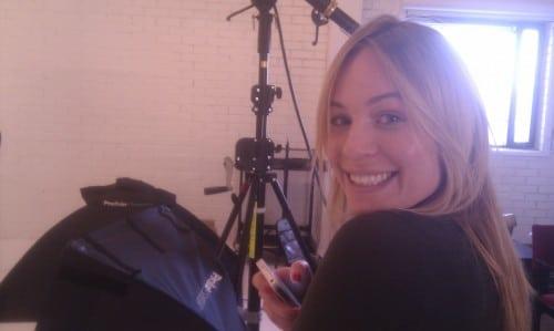 Makeup artist Sandhra- Anine Bing