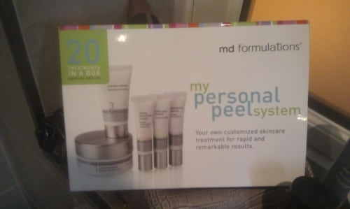 My Personal Peel System – md formulations