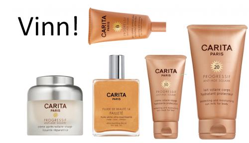 2 dagar kvar på Carita tävlingen. Vinn produkter för 3435kr!