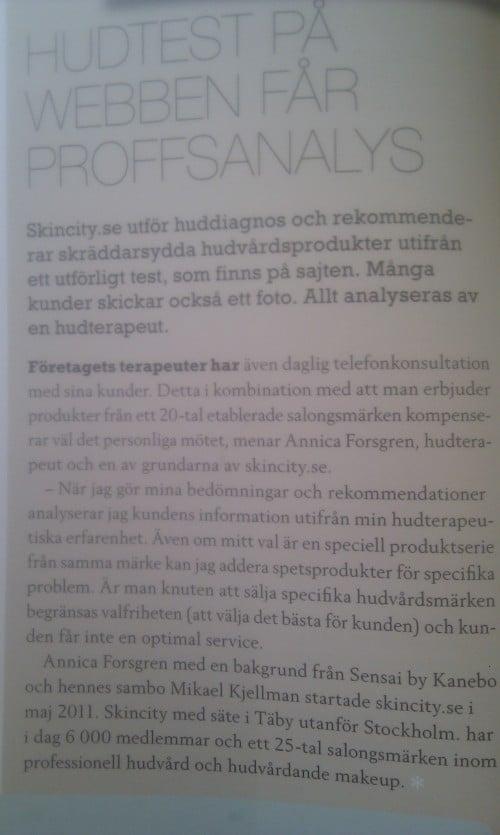 Tidningen Kosmetik och Tidningen S