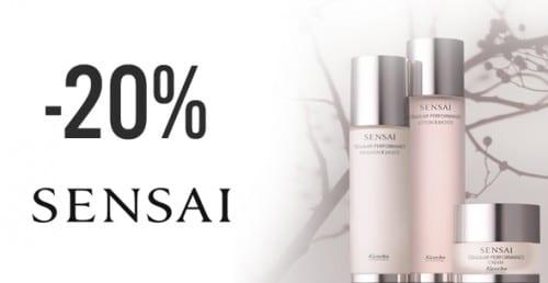 Sista chansen – 20% rabatt på Sensai by Kanebo