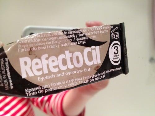 Refectocil ögonbrynsfärg är bäst!