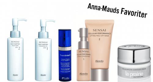 Hudterapeuten Anna-Maud Ericssons hudvårds favoriter