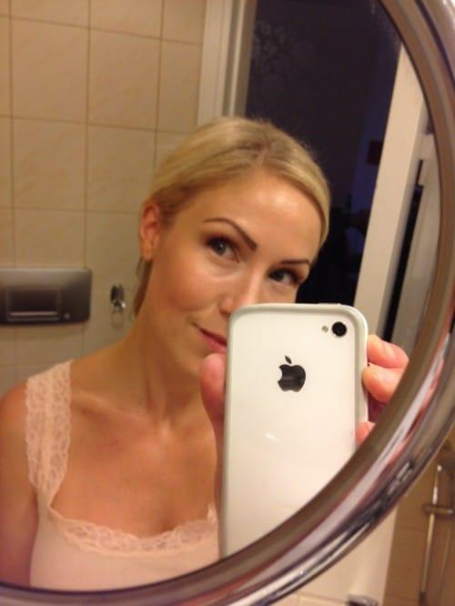 Annica Forsgren Fix inför kvällen