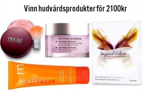 Vinn hudvård för 2100kr- HÄR ÄR VINNAREN!