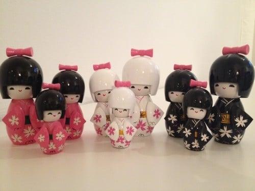 VINNARNA av drömprodukt + Kokeshi Gift Set