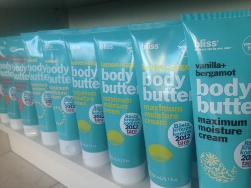 Tävling!! Vinn Bliss Body Butter