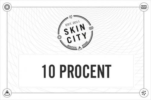 skincity presentkort  10%