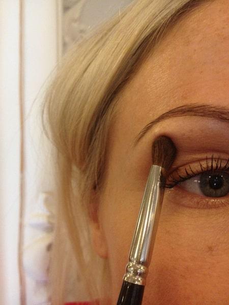borstar till ögonskugga