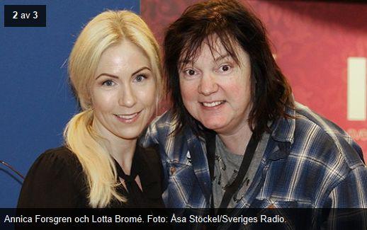 Radio P4 Extra  – Ögonbryn..