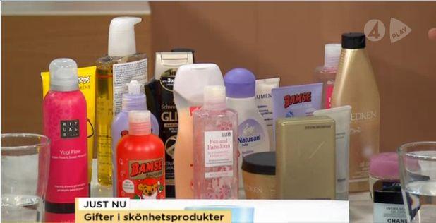 farliga ingredienser i hudvård