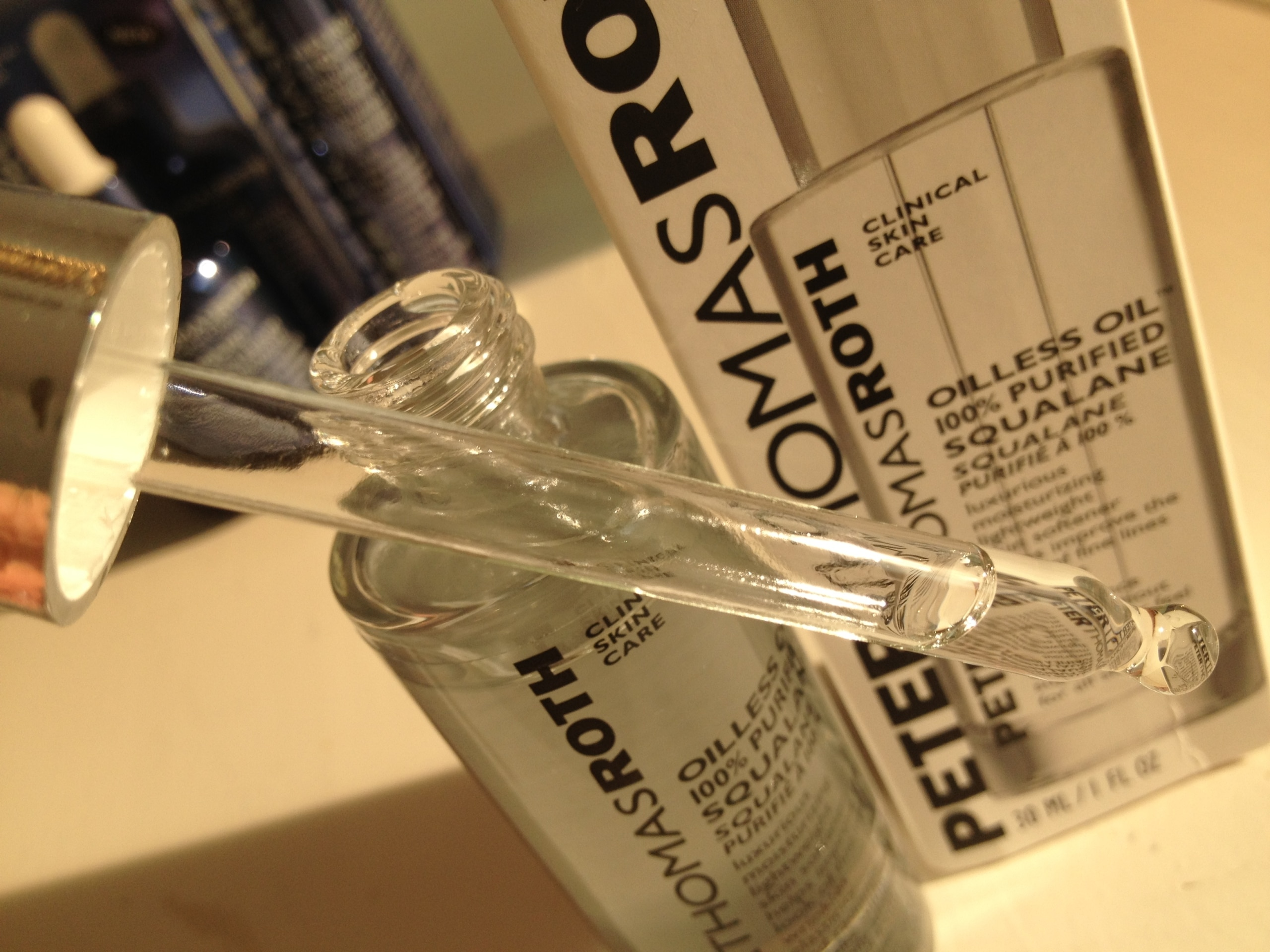 oilless oil Peter Thomas roth
