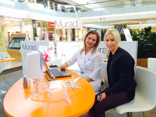 Skin Scanning i Täby Centrum