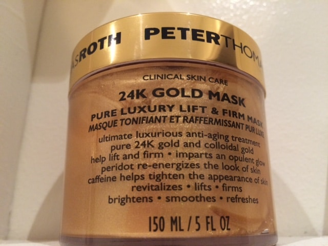 24h gold mask