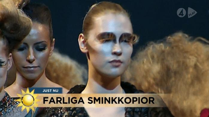 Piratkopior på hudvård och makeup – TV4 Nyhetsmorgon
