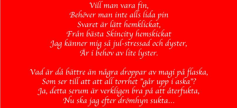 dc16d64ad013 Jultävling - Vinn din önskeklapp! - Hudspecialisten