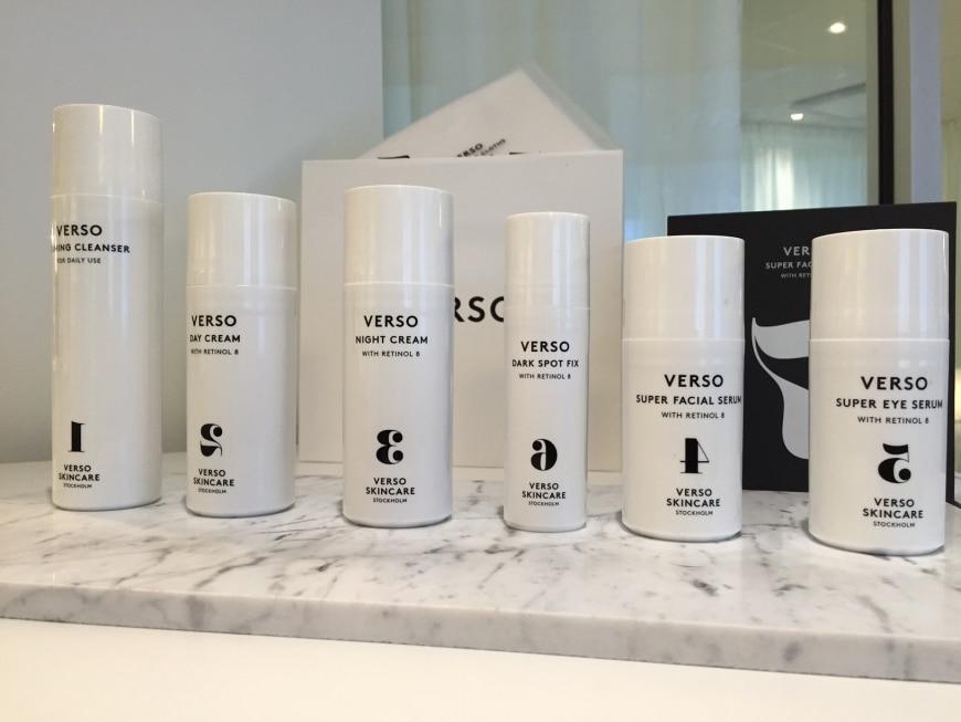 Vi lanserar VERSO Skincare