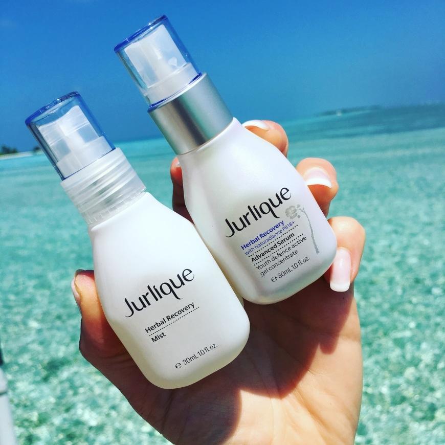 Jurlique & Jag på Maldiverna