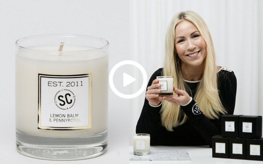 skincity Candle winter sorbet