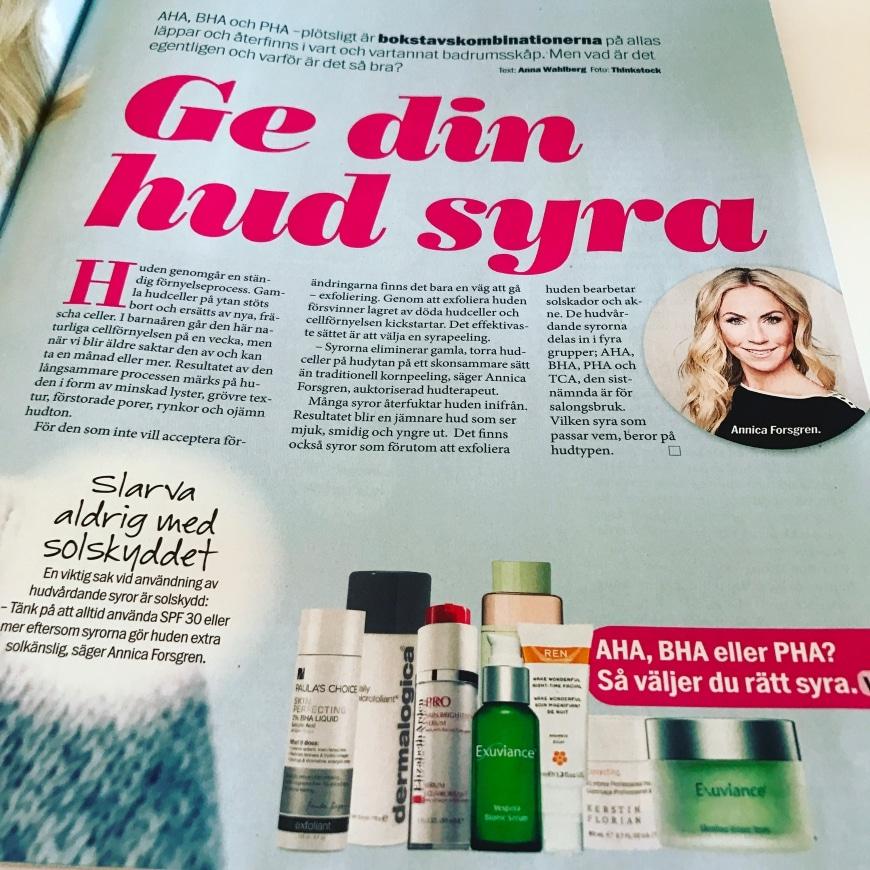 Ge din hud Syra – Aftonbladet