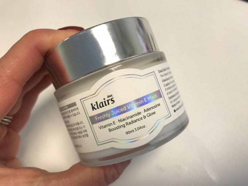 Freshly Juiced Vitamin E Mask – KÄRLEK
