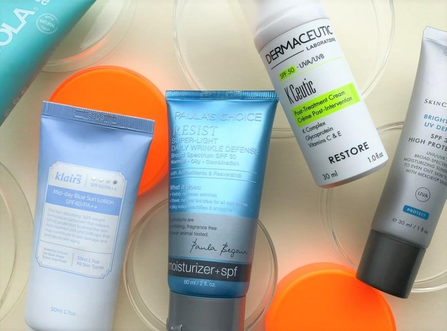 Solcremer för olika hudtillstånd