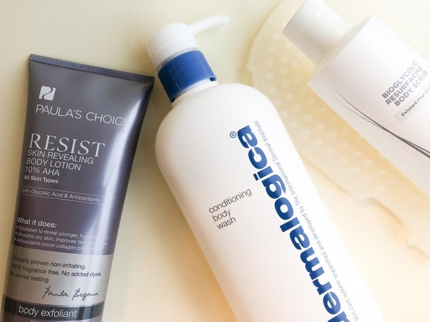 Produkter som behandlar knottrig hud