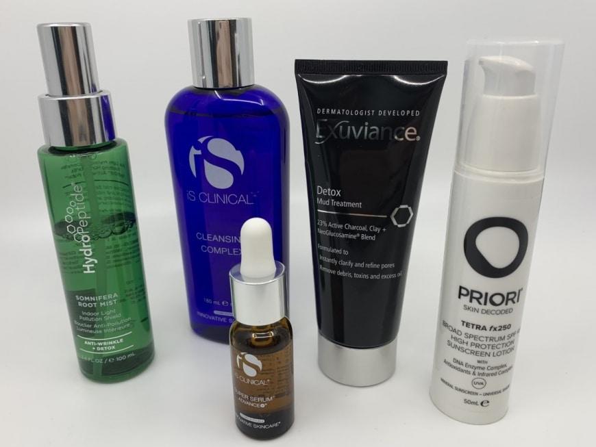 Produkter som skyddar mot föroreningar
