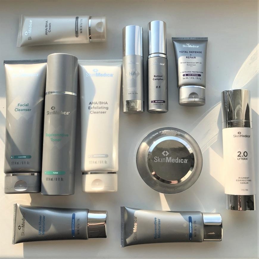 SkinMedicas produktsortiment