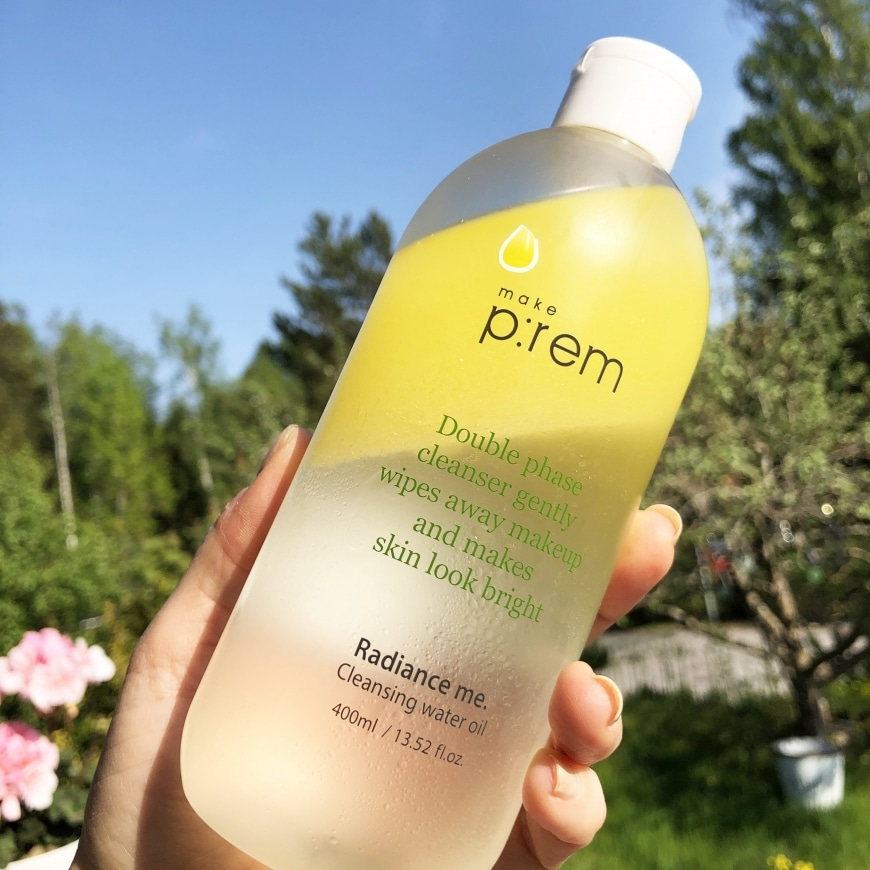 Make P:rem cleansing water oil
