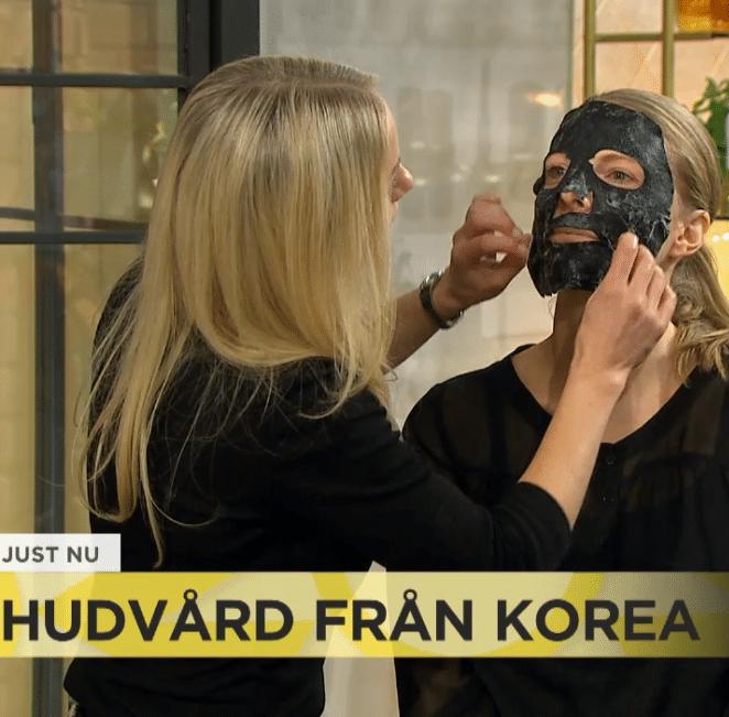 Yasemin och Annica om Koreansk hudvård på Nyhetsmorgon