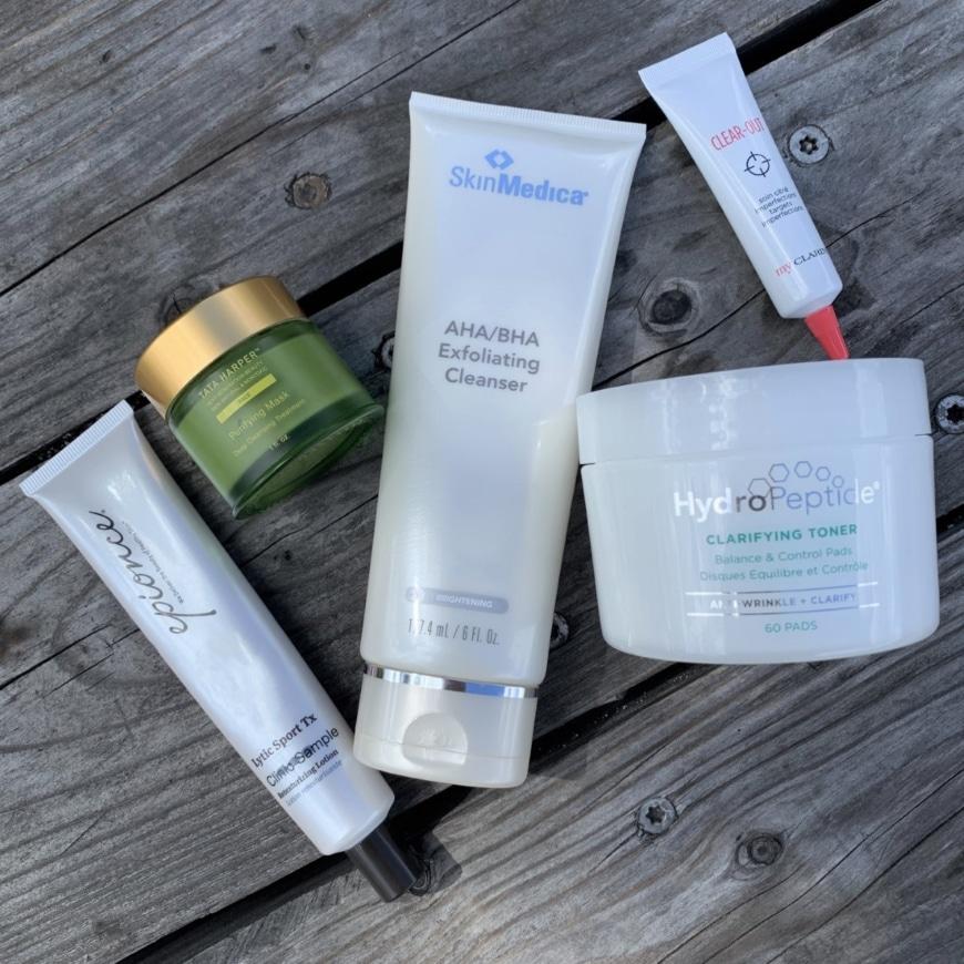 Produkter för pormaskar och förstorade porer