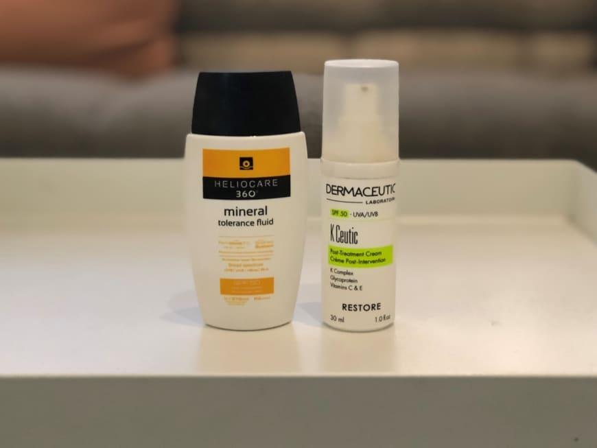 Solskydd från Heliocare och Dermaceutic