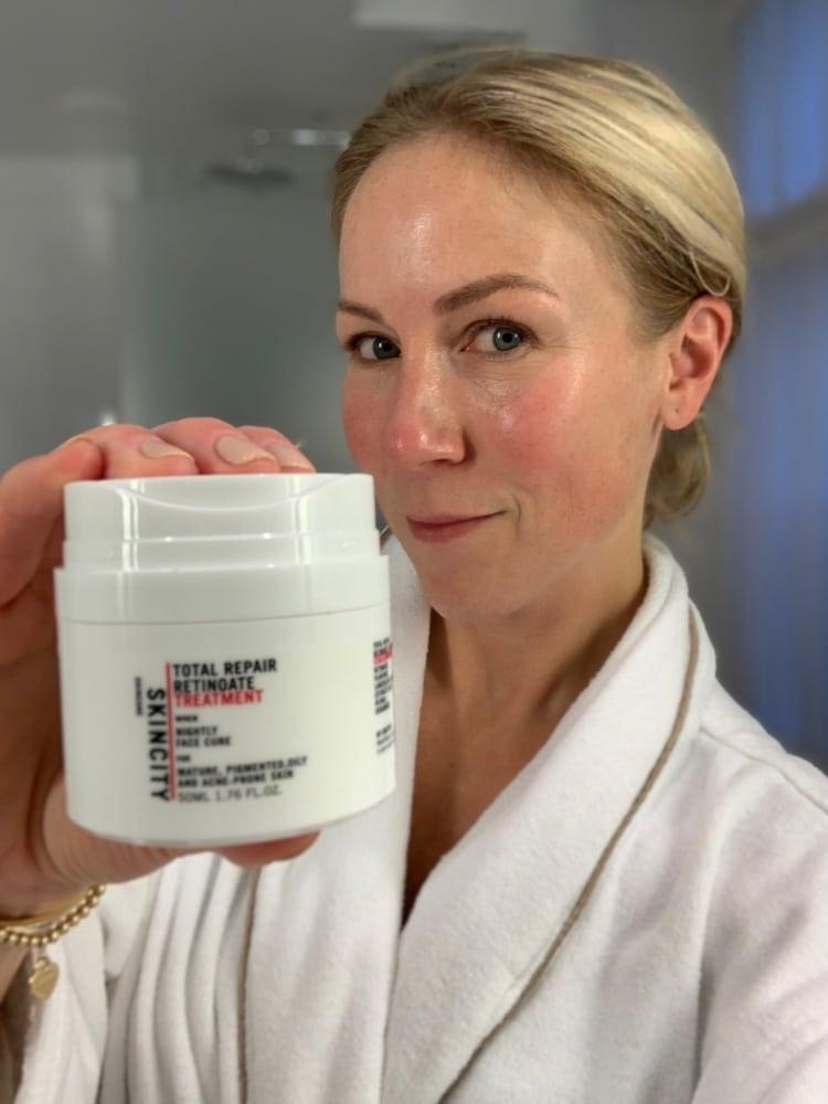 Skincity skincare nattmask med A-vitamin