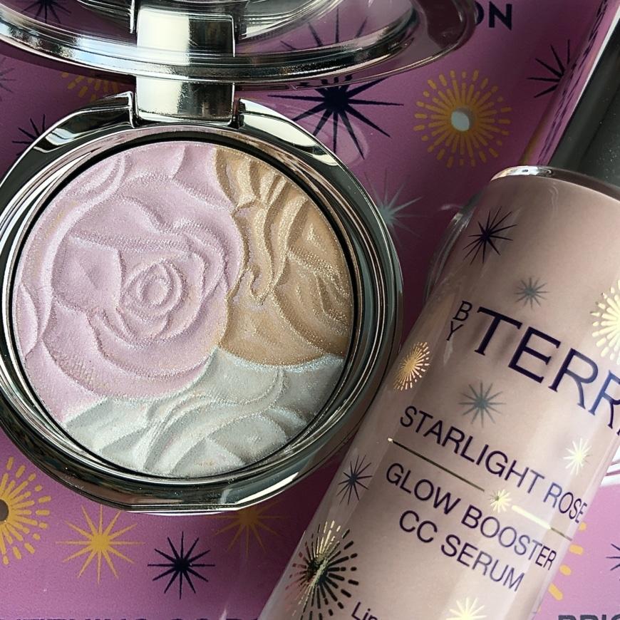 Starlight Rose Glowing Powder och Starlight Rose CC Serum