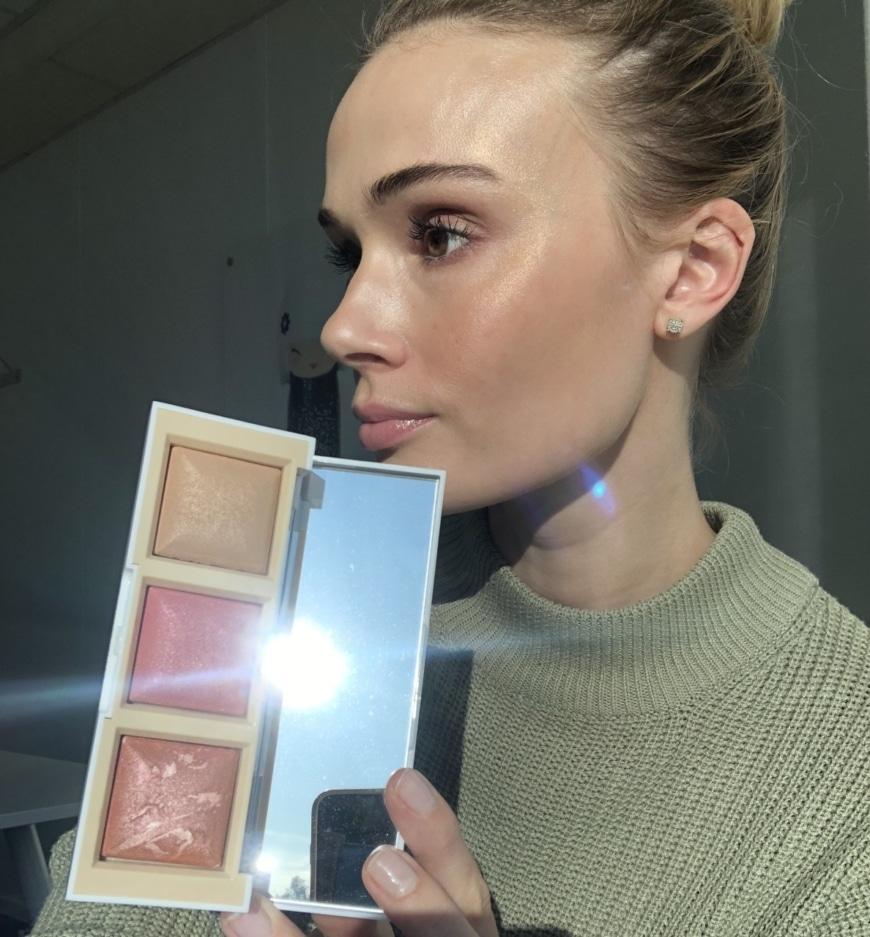 Sara med facepalette