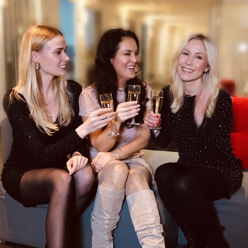 Sara, Johanna och Annica