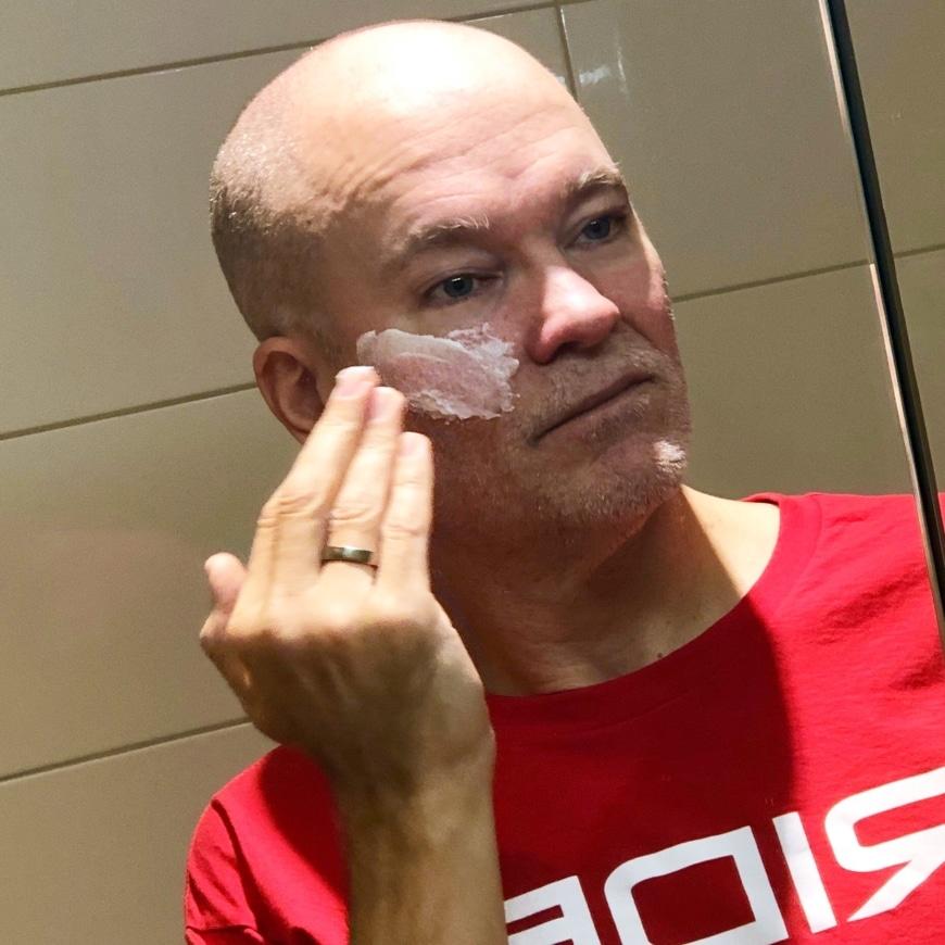 hudvård män