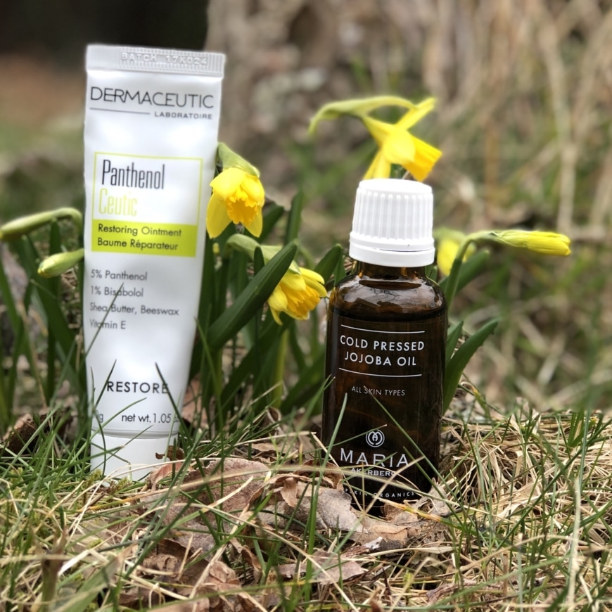 Panthenol Ceutic och Jojoba oil