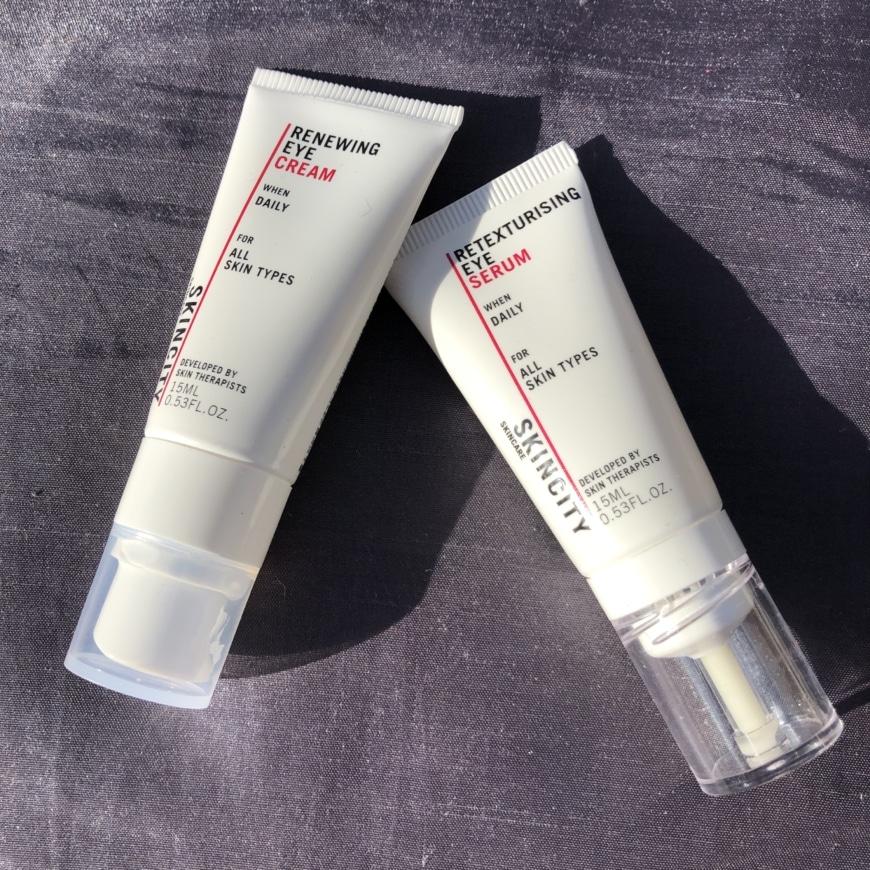 Renewing Eye Cream och Retexturising Eye Serum