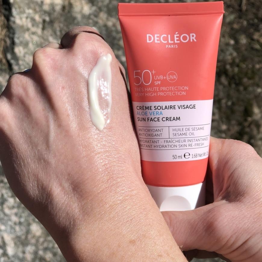 Decleor Aloe Vera sun face cream
