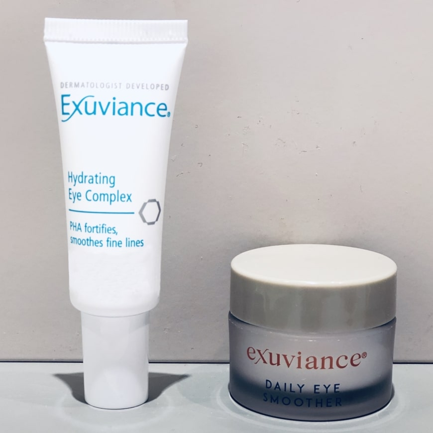 Hydrating Eye Complex och Daily Eye Smoother