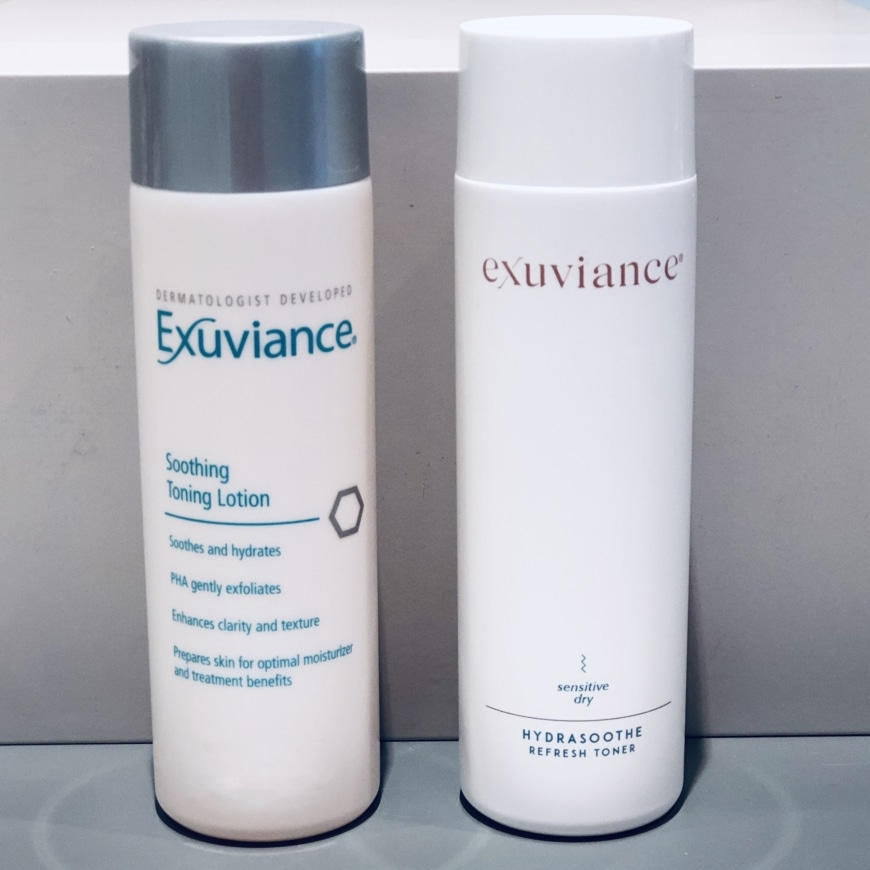 Soothing Toning Lotion och HydraSoothe Refresh Toner
