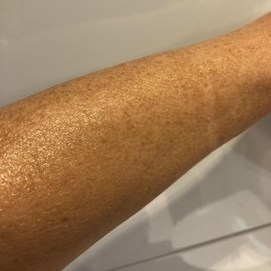 Hydropeptide body shimmer oil
