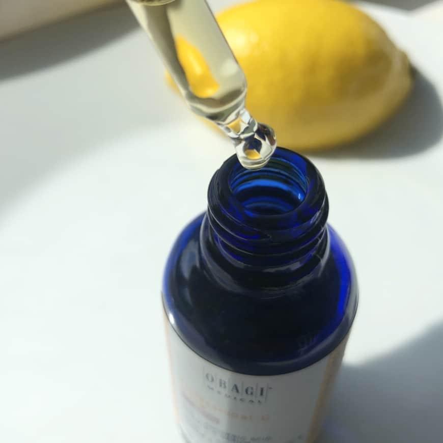 C-vitaminets konsistens och klara färg