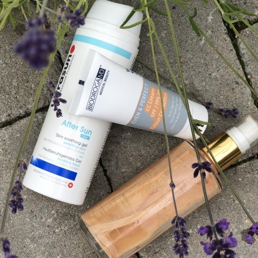 Ultrasun After Sun, Biodroga MD CC-cream och Body Shimmer oil