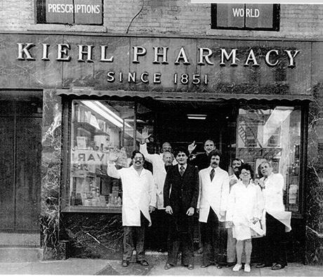 First Kiehl's store